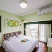 清新风格薄荷绿儿童房设计装修效果图