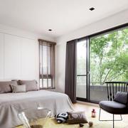 现代风格简单舒适卧室设计装修效果图