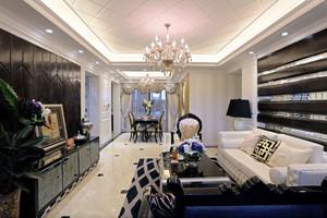新古典主义风格奢华精致客厅设计装修效果图