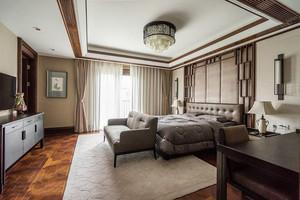 新中式风格古典精致卧室设计装修效果图
