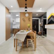 宜家风格简单舒适餐厅设计装修效果图