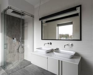 56平米简约风格单身公寓设计装修效果图