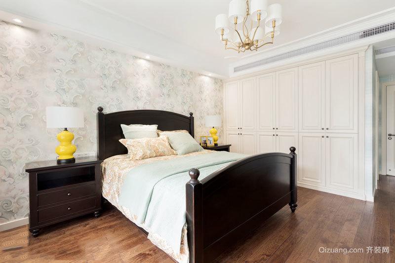美式风格简约卧室设计装修效果图赏析