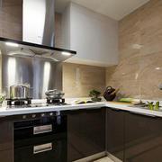 现代风格小户型厨房设计装修效果图赏析