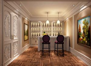 新古典主义风格精致别墅室内设计装修效果图