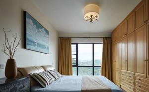 新中式风格淡雅精美卧室装修效果图