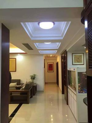 100平米中式风格精致室内设计装修实景图
