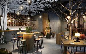 乡村风格自然舒适餐厅设计装修效果图