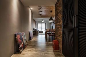 82平米后现代风格时尚两室两厅室内装修效果图