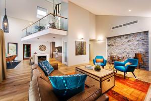 260平米混搭风格时尚别墅室内装修效果图