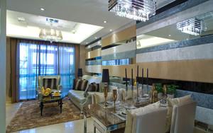 简欧风格精致餐厅设计装修效果图