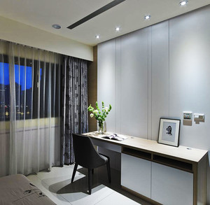 80平米清新风格时尚室内设计装修效果图