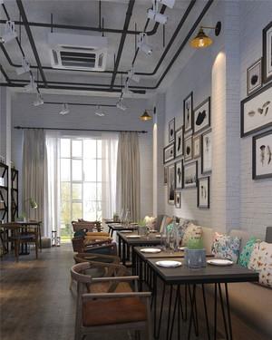 简约风格自然咖啡厅设计装修效果图
