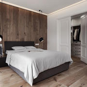 简约风格精致卧室衣柜设计装修效果图