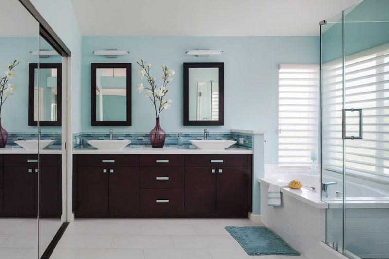 新中式风格大户型精致卫生间装修效果图