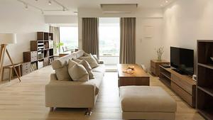 宜家风格简约自然两室两厅一卫装修效果图