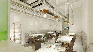 54平米简约风格餐厅设计装修效果图