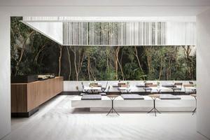 简约风格轻松咖啡厅设计装修效果图