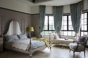 混搭风格精美典雅别墅室内装修效果图