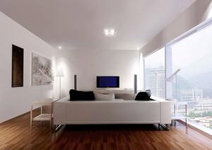 125平米简约风格复式楼室内装修效果图