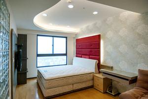 61平米简约风格一居室小户型装修效果图