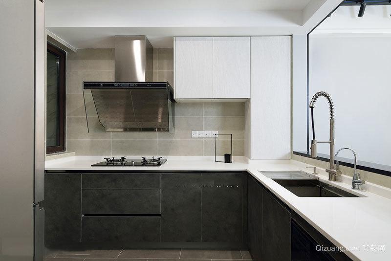 现代风格小户型厨房设计装修效果图