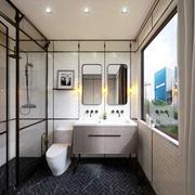 后现代风格精致卫生间设计装修效果图