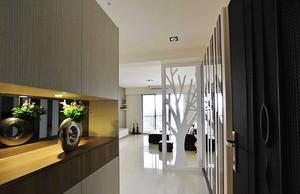66平米简约风格精致一居室室内装修效果图