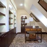 美式风格精致书房设计装修效果图赏析