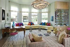欧式风格精致别墅室内设计装修效果图