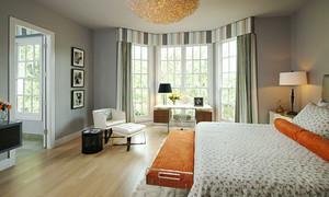 现代简约风格时尚大户型室内设计装修效果图
