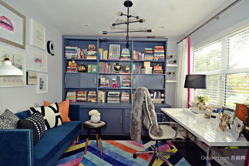 现代风格时尚书房设计装修效果图赏析