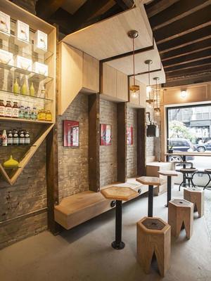 简约风格温馨咖啡厅设计装修效果图