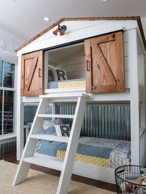 简欧风格精致儿童房设计装修效果图