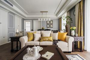 100平米简欧风格精美温馨室内设计装修效果图