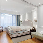 简欧风格温馨典雅大户型卧室装修效果图