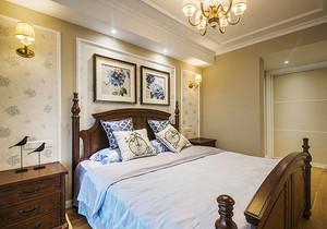 美式风格时尚创意两室两厅室内装修效果图