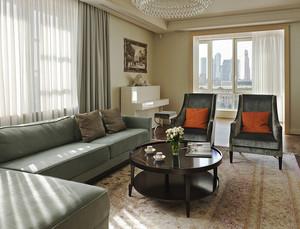 160平米欧式风格精美大户型室内设计装修效果图,家具以浅色为主体色调,简化的线条,配别致的手工雕花,再饰以纯银做旧,具有传统欧式点睛之笔的细节。