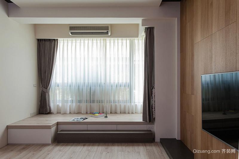 日式风格简约复式楼室内设计装修效果图