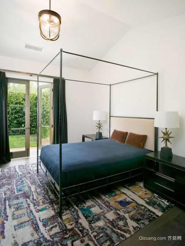 现代风格个性时尚卧室设计装修效果图