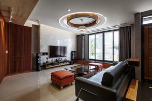 新中式风格精致大户型室内设计装修效果图