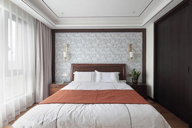 新中式风格精致卧室设计装修效果图