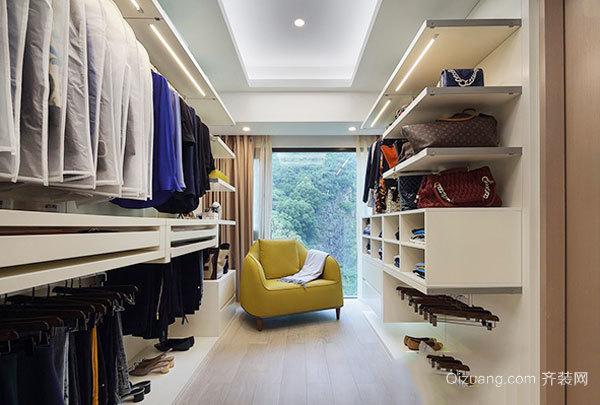 现代风格精致独立式衣帽间设计装修效果图