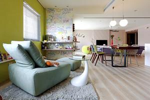 120平米现代风格精美室内设计装修效果图赏析