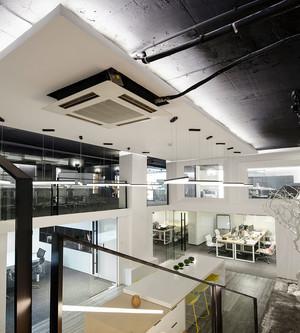 现代风格loft办公室室内装修效果图