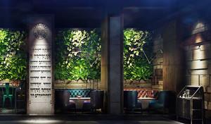 后现代风格时尚创意酒吧设计装修效果图