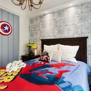 美式风格时尚创意儿童房装修效果图