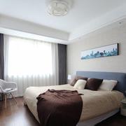 简约风格温馨舒适卧室设计装修效果图