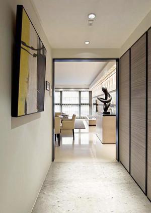 86平米现代风格两居室室内设计装修效果图