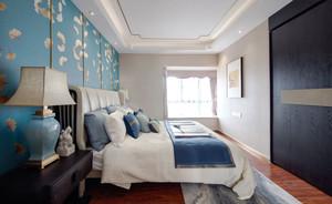 新中式风格复古典雅卧室设计装修效果图